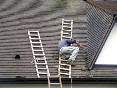 dépannage toiture